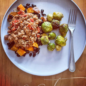Ground Turkey Sweet Potato Bowl